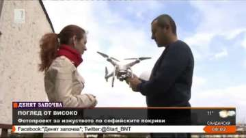 Ясен Джабиров - Карлсон, който снима софийските покриви