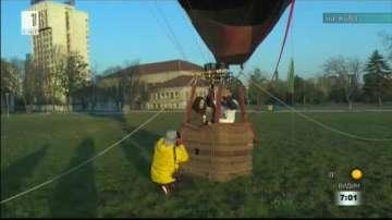 С бънджи скок и закуска във въздуха стартира фестивалът Webit