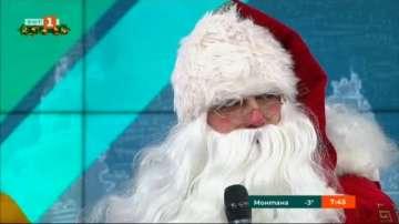 Дядо Коледа гостува в БНТ