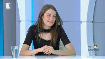 Мис България 2015 преподаде урок по български език в ефира на Денят започва