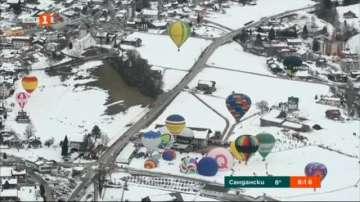 Фестивал на балоните в Швейцария