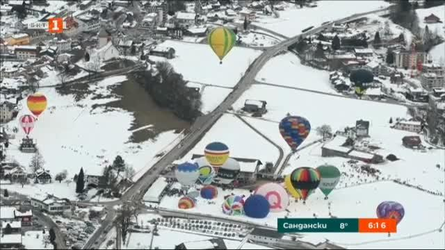В Швейцария се провежда традиционният фестивал на балоните с горещ