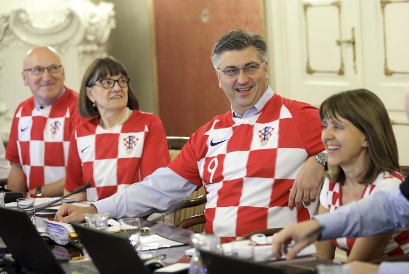 Министър-председателят на Хърватия Андрей Пленкович