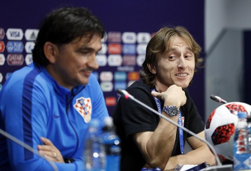 Лука Модрич, капитан на отбора на Хърватия