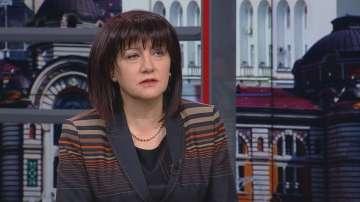 Цвета Караянчева за президента Радев: Когато говориш без диалог, е по-лесно