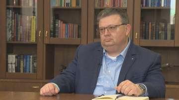 Главният прокурор Сотир Цацаров в специално интервю за БНТ