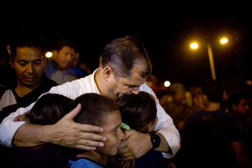 снимка 1 След трусовете в Еквадор и Япония