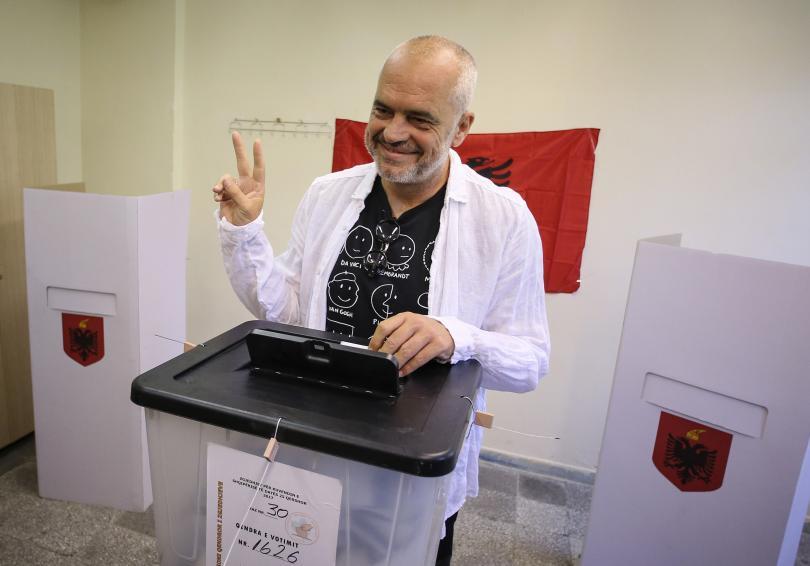 Еди Рама, министър-председател на Албания
