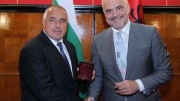 Премиерът Бойко Борисов се срещна с албанския си колега Еди Рама