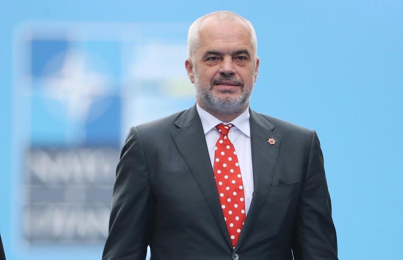 Албанският премиер и лидер на управляващата Социалистическа партия Еди Рама
