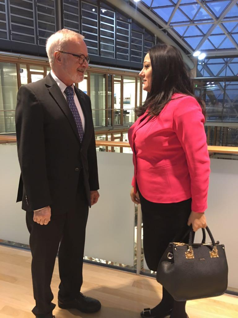 снимка 1 Лиляна Павлова се срещна с ръководството на Европейската инвестиционна банка