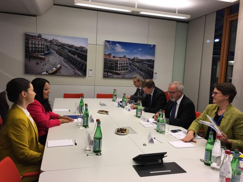Лиляна Павлова се срещна с ръководството на Европейската инвестиционна банка