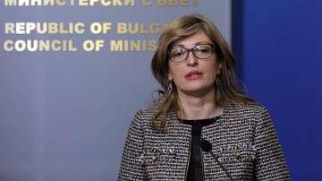 Вицепремиерът и външен министър Екатерина Захариева е на посещение в Москва