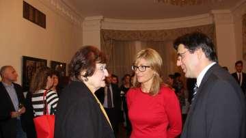 Екатерина Захариева се срещна с българската общност във Вашингтон