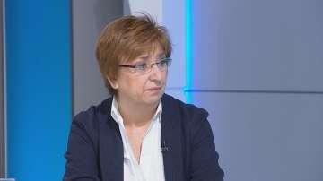 Проф. Екатерина Михайлова: И без загуба на изборите за ГЕРБ, щеше да има оставка