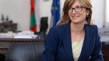Екатерина Захариева е в Солун за четиристранна министърска среща