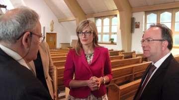 Министър Захариева отбеляза Деня на независимостта с българите в Канада