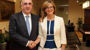 Захариева: Разчитаме на Азербайджан за диверсификация на доставките на газ
