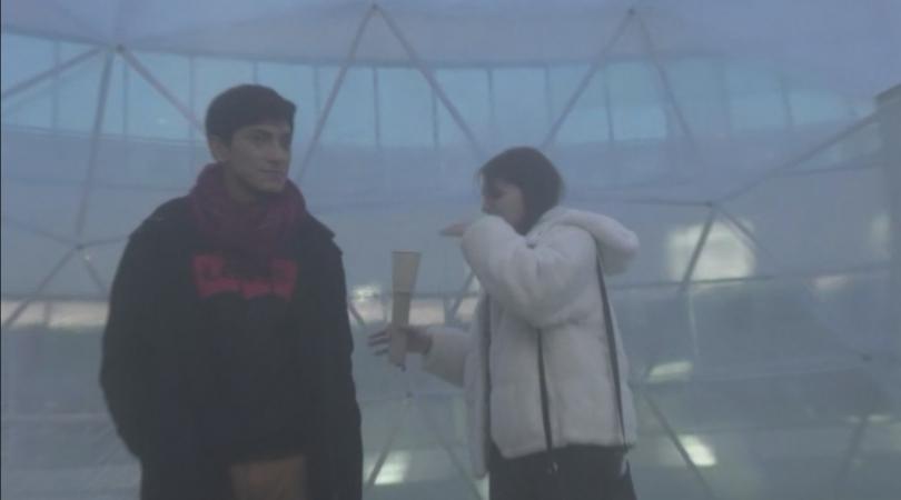 Непрогледен смог и предупреждение за опасно високи нива на фини