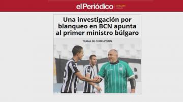 Борисов отхвърли обвинения в испанската преса за пране на пари