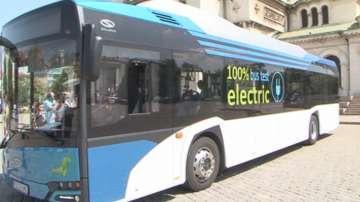 20 електробуса ще се движат в София до края на годината