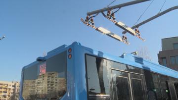 Столичната община е инвестирала 15 млн. лв. в закупуването на новите електробуси