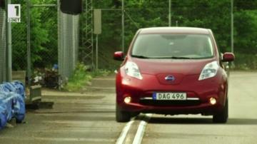 Зелена светлина: Магистрала захранва електромобили в Швеция