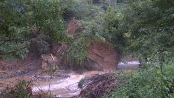 Поройните дъждове нанесоха сериозни щети и в Еленския балкан