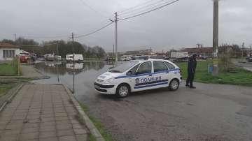 Няма опасност от наводнение в Елхово, въпреки високите нива на р. Тунджа