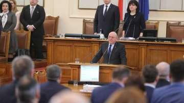 111 депутати подкрепиха избора на Емил Димитров за екоминистър
