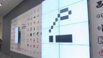 Пиктограмите емоджи в музея на модерното изкуство в Ню Йорк