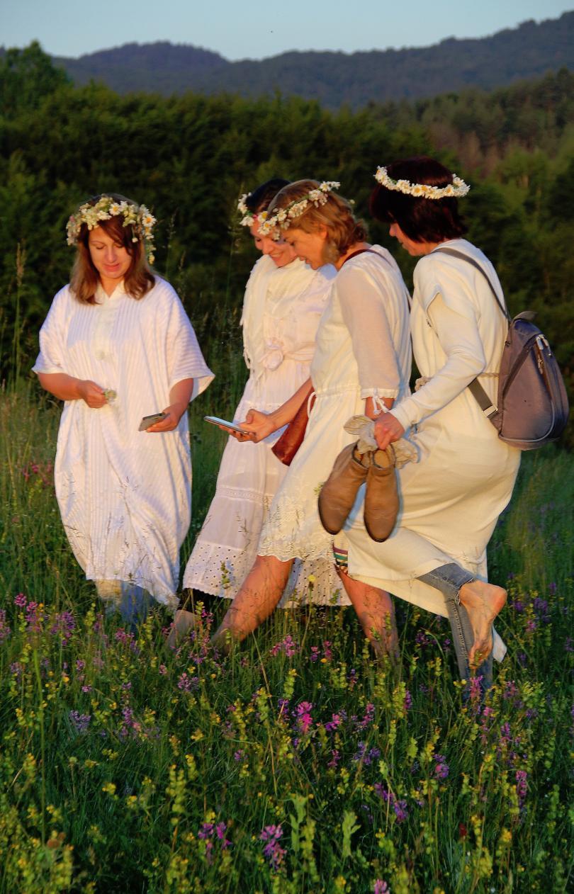 снимка 1 Магичен ритуал за Еньовден в родопското село Горна Арда