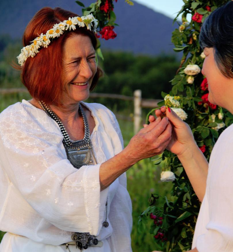 снимка 2 Магичен ритуал за Еньовден в родопското село Горна Арда