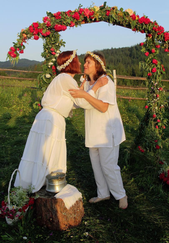 снимка 3 Магичен ритуал за Еньовден в родопското село Горна Арда