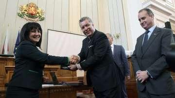 Междупарламентарно заседание на ЕП и американския Конгрес в София