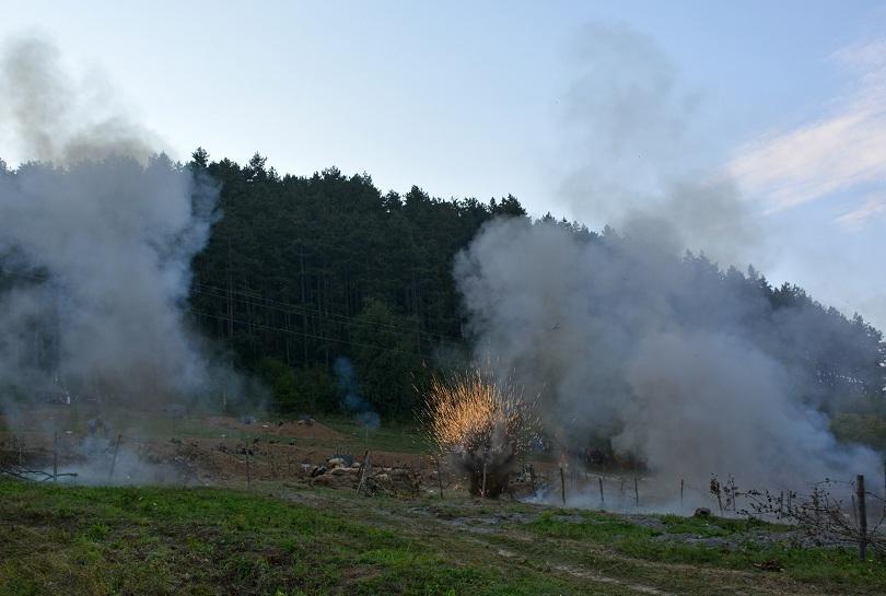 снимка 1 Дойранската епопея оживя в Троян (ВИДЕО / СНИМКИ)