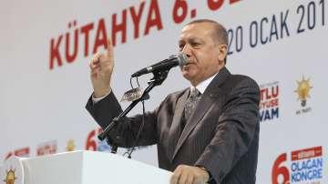 Ердоган: Започнахме военна операция в Сирия