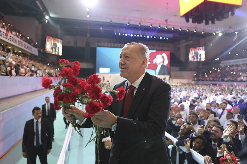 ердоган беше преизбран лидер партията справедливостта развитието