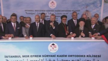Ердоган направи първата копка на нов православен храм в Истанбул