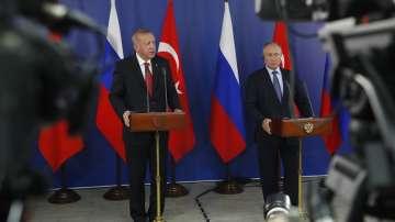 Ердоган, Путин и Рухани се срещат в Анкара