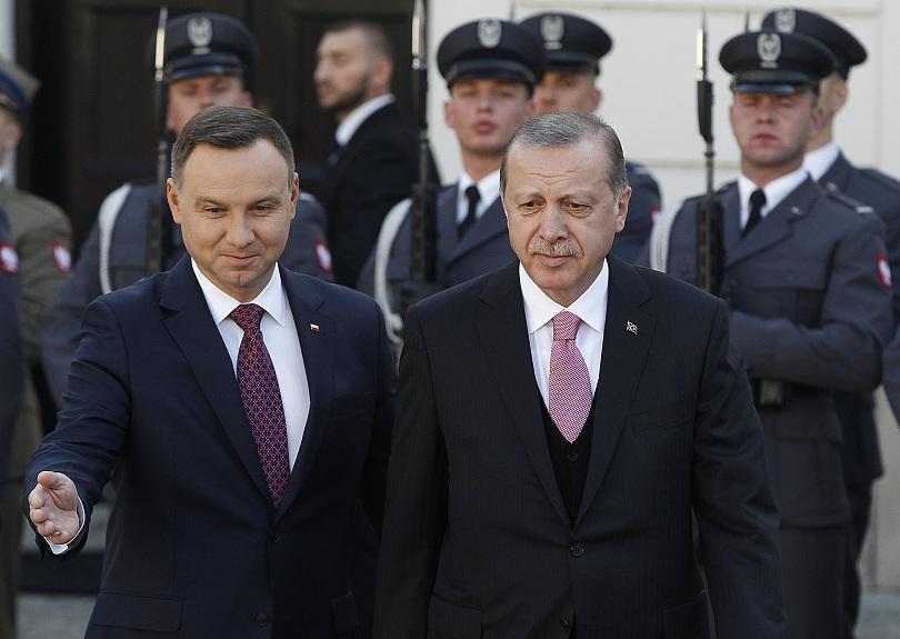 Турският президент Реджеп Тайип Ердоган пристигна днес на еднодневно посещение