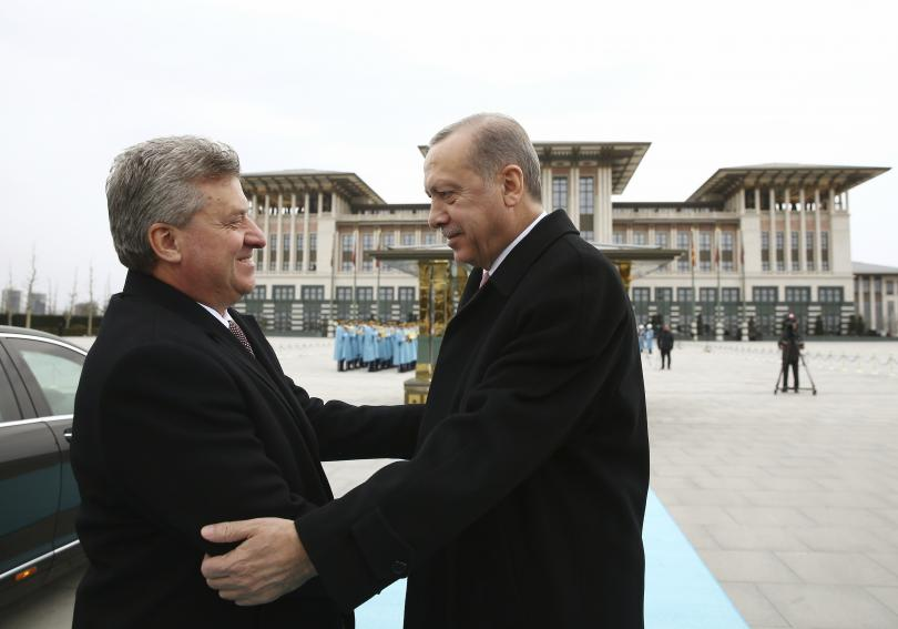 Турският президент подкрепи интеграцията на Македония в НАТО. Реджеп Ердоган
