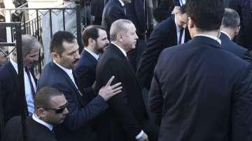 Ердоган се срещна с представители на мюсюлманското малцинство в Комотини