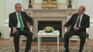 Първа среща на Ердоган и Путин след кризата заради сваления руски бомбардировач