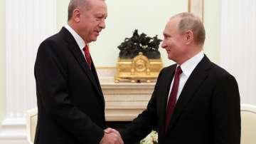 Турският президент е на посещение в Москва