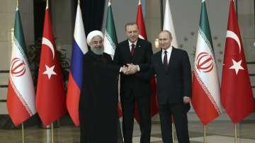 В Анкара започна срещата между президентите на Турция, Русия и Иран
