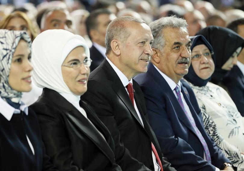 снимка 1 Ердоган беше преизбран за лидер на Партията на справедливостта и развитието