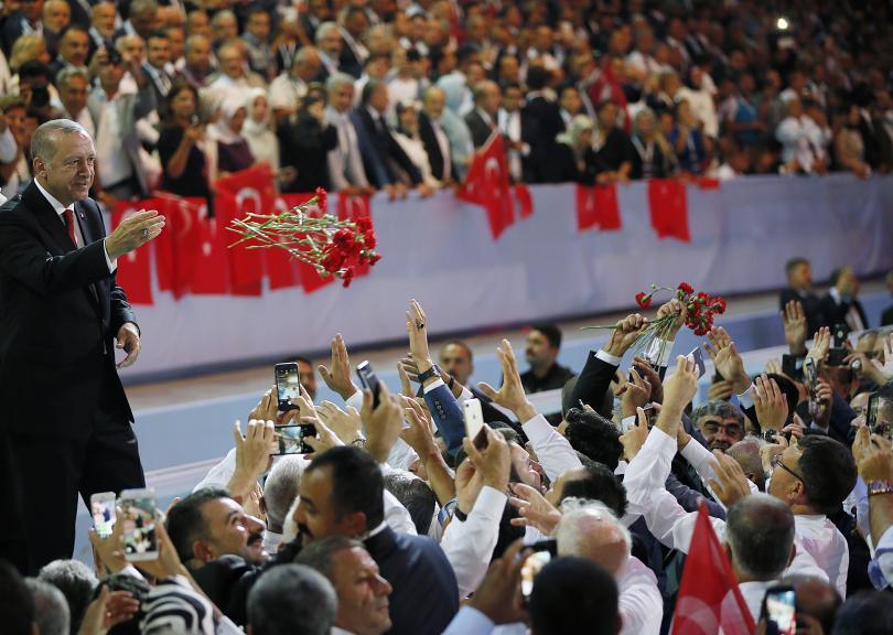 снимка 2 Ердоган беше преизбран за лидер на Партията на справедливостта и развитието