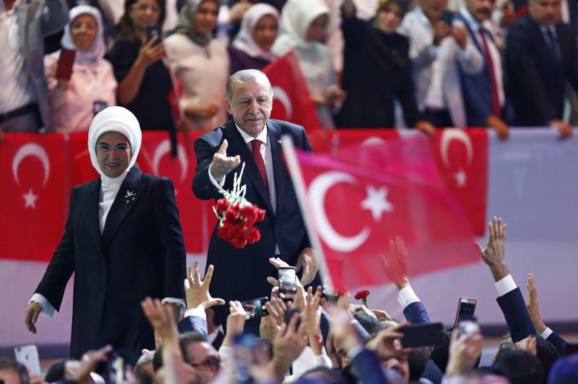 снимка 3 Ердоган беше преизбран за лидер на Партията на справедливостта и развитието