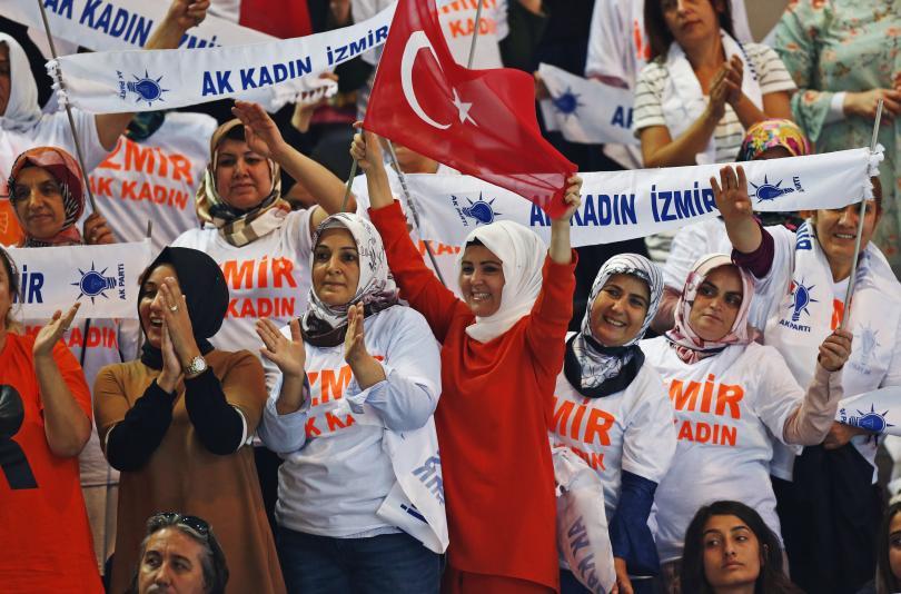 снимка 4 Ердоган беше преизбран за лидер на Партията на справедливостта и развитието
